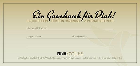RINKCYCLES Gutschein